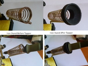 Soldering Iron Holder Top