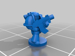 Epic Scale Astartes mkIII tactical and despoiler Proxy