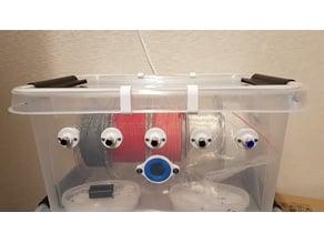 "Fastening elements for tightness (Filament Dry Box ""PLAST TEAM TOP STORE 32L"")"