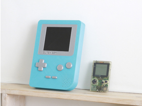 Giant Game Boy - Single and Dual Extrusion
