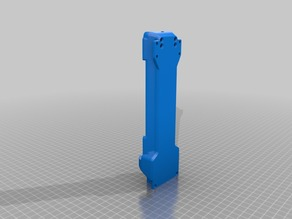 Remix of syringe extruder to acomodate any 50ml or 60ml syringe.