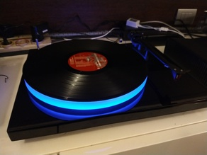 LEDs support for Project Debut Turntables