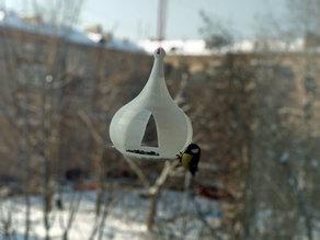 Birdfeeder church orthodox dome feeder
