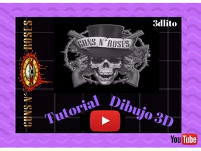 Llavero Guns N' Roses (TUTORIAL)