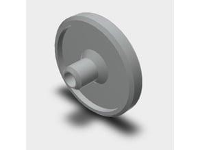 Flush tank button