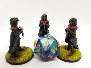 Cultist for 28mm Tabletop gaming