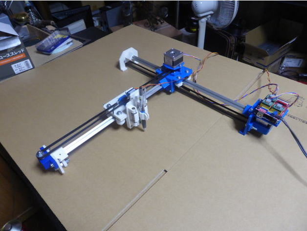 Low cost XY Plotter by cnc234 - Thingiverse