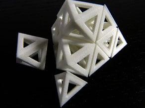 Octahedra and tetrahedra