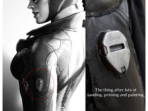 Catwoman - Arkham City costume detail