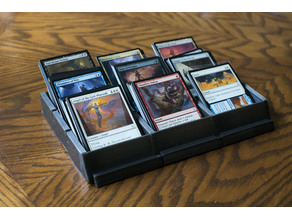 Modular Card Sorting Trays