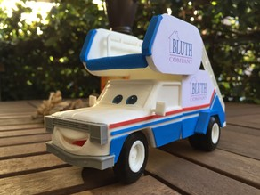 Arrested Development Stair Car from Pixar's Cars Universe