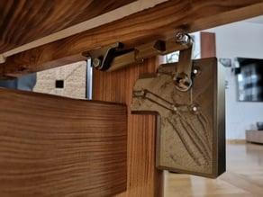Baby crib automatic swing drive-unit / Babywiegen-Schaukelantrieb