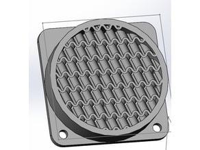 Filament-proof fan cover, 40mm