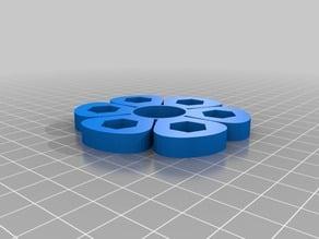 Flower Fidget Spinner 608 Bearing