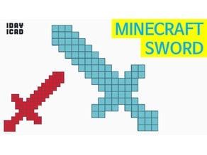 [1DAY_1CAD] MINECRAFT SWORD