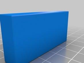 Cap or Foot for 45x20x2mm Aluminium profile