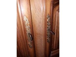 Key entry (Entrée de clef ou decors XVIII eme Siecle)