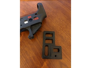 AR-15 Trigger Guard Installation Guard