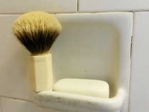 Make a High Quality Shaving Brush for Cheap (+-)