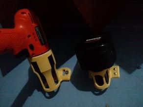 Cordless Drill Battery Holder
