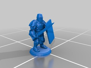 Basic Tower Guard - Sword