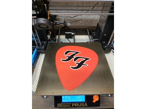 giant foo fighters mmu guitar pick