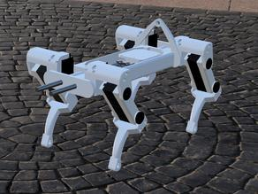 Arduino quadruped robot for MG995 (OPEN SOURCE)