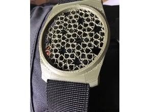 Lenscap buckle 58mm holder oriental design