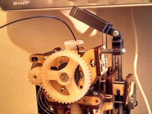 Printrbot Jr. 40 mm Filament Fan... (Adjustable! :D)