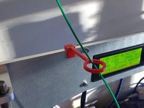 Geeetech Prusa i3 Aluminum Vertical Filament Guide