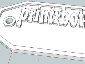PrintrBot Name Tag