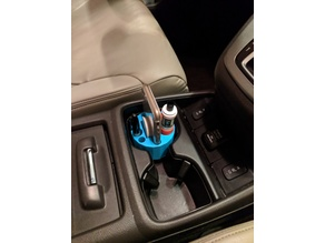 Vape and cell phone cup holder