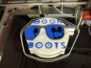 Moon Boots Magnet