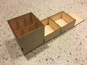 Laser cut desk organizer (v01)