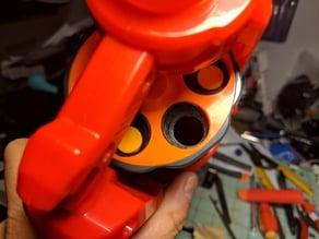 Cycloneshock Nerf Blaster Elite Dart Offset Adapter