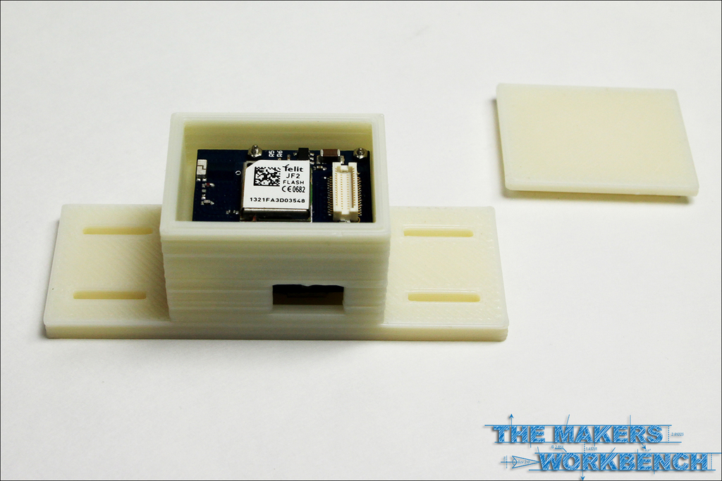 Case for TinyCircuits GPS Data Logger Stack by