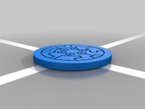 Yu-Gi-Oh six samurai coin
