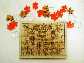 Jigsaw puzzle(f.Labo)