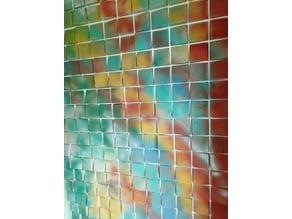 4x4 Mosaic Wood Matrix you can rearrange