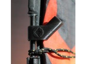 Stunt kite spar fitting (4mm)
