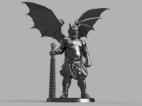 28mm Demon Prince Stand In w/ Wings