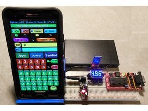 PDA / Mobile Phone Circuit Breadboard Holder