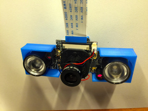 Infrared Camera Support with Ball joint - Support de caméra avec led infrarouge