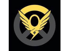 Overwatch Mercy Keychain/sign