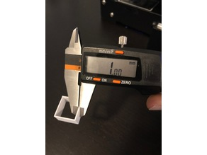20x20x10x1mm(Thick) Calibration Cube