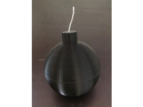 String spool bomb / dévidoir à ficelle bombe