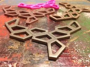 Graphic Necklace - Polygon
