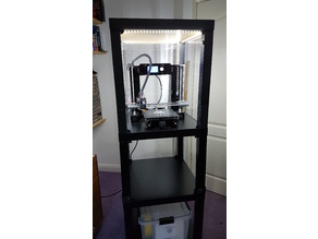 IKEA Lack Enclosure with power to removable cover