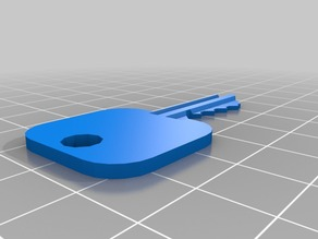 My Customized Schlage key based on nrp's key