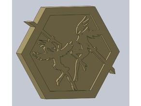 Killer Queen Arcade Game Logo